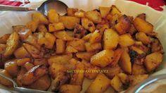 Μελωμένες καταπληκτικές πατάτες φούρνου !!! ~ ΜΑΓΕΙΡΙΚΗ ΚΑΙ ΣΥΝΤΑΓΕΣ