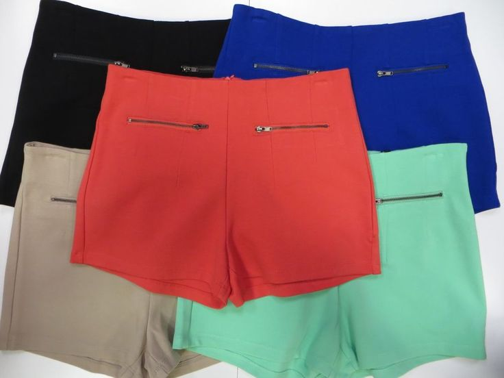 Junior Active USA shorts zipper in back #ActiveUSA #MiniShortShorts