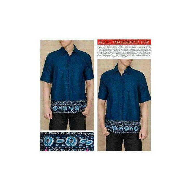 Jual Baju SB Toraja biru PGTA - Pusat Grosir Baju Metro Tanah Abang