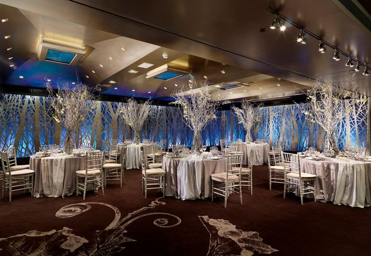 """Choose the extremely striking banquet room """"Silver Forest"""" for a successful and unique event. http://www.rbathenspark.com"""