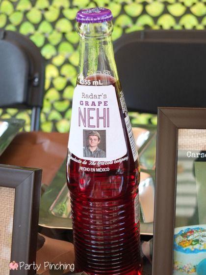 Mash Bash, Mash tv show themed party, Radar's Grape Nehi