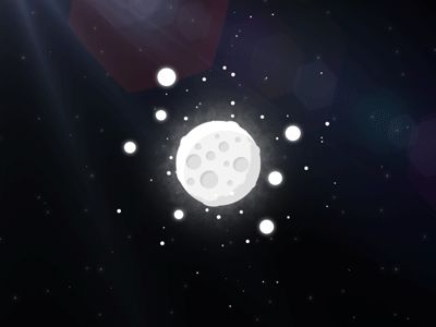 Dribbble - Lunar System by Federico Vaccarezza