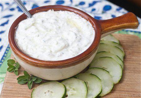 Tzatziki: Greek Recipe Tzatziki Sauces, Greek Lemon Sauces, Tzatziki Mmmmmmmmmmmm, Yummy Tzatziki, Greek Food, Chicken Gyros, Dips, Greek Tzatziki Recipe, Greek Vegans Recipe