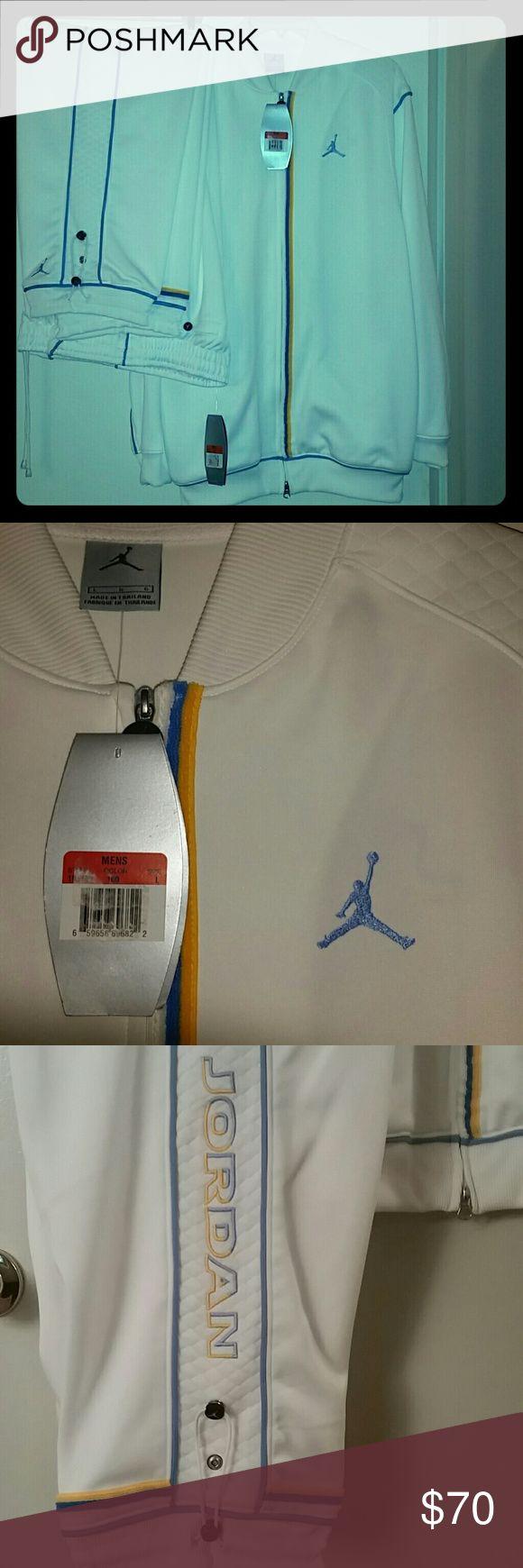 Air Jordon Track Suit Never worn Large Pants and Large Jacket Nike Air Jordan Jackets & Coats Performance Jackets