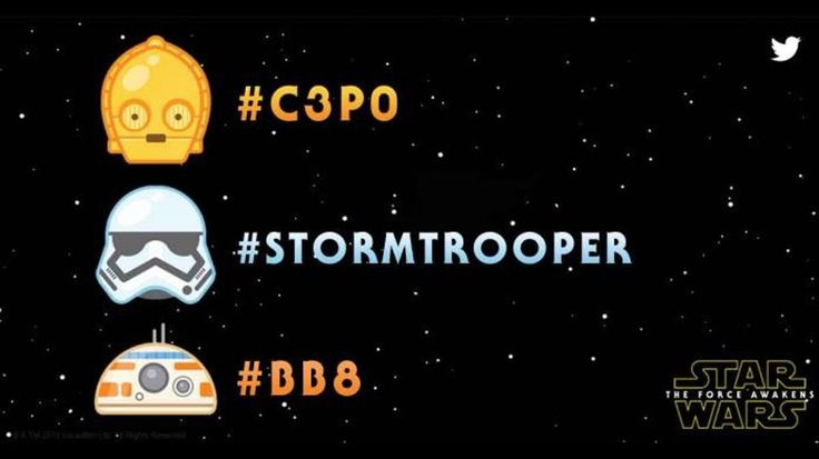 The force is with these new Star Wars emoji for Twitter