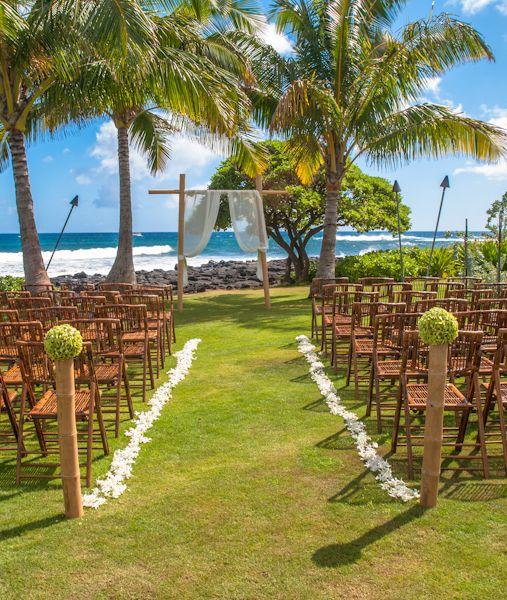 Beautiful Kauai Wedding #kauai #wedding #hawaii