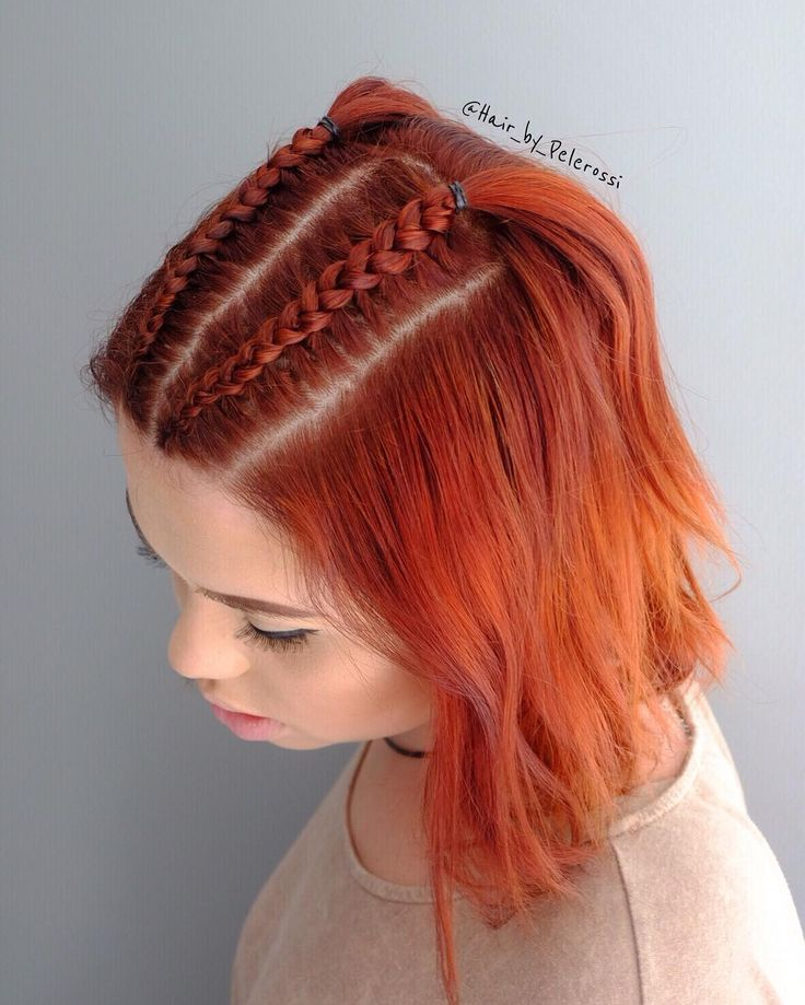 30 atemberaubende geflochtene kurze Frisuren