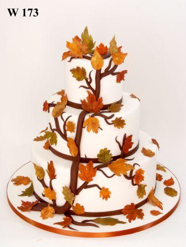 Fall birthday cake designs