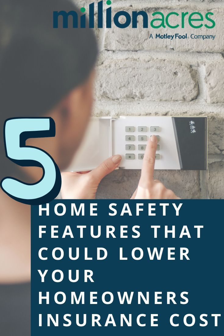 5 Home Safety Features That Could Lower Your Homeowners Insurance