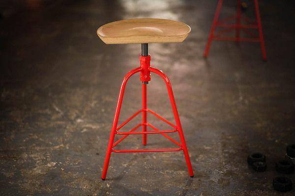 Indy Furniture Indy Adjustable Stool Mid Range Adjustable