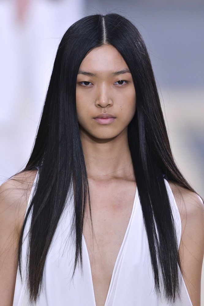 Spring Hair Trend: Pin-Straight Hair - theFashionSpot