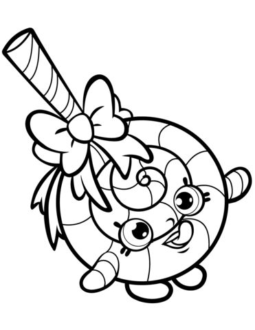 Dlish Donut Shopkins Season 1 To Print Coloring Pages Printable And Book For Free Find More Online Kids Adults Of