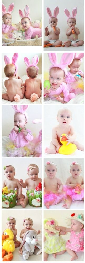99 best easter baby pictures images on pinterest baby photos naked baby with easter bunny ears and negle Images