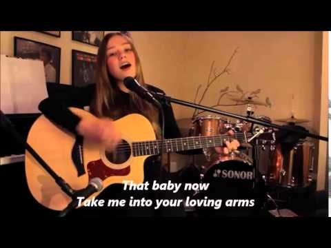 Connie Talbot - Thinking Out Loud Lyrics (acoustic) Cover
