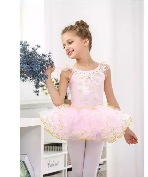 ea732351b Niñas clásico Ballet tutú falda vestido nuevos niños encaje personalizado  Ropa de baile vestidos para niña