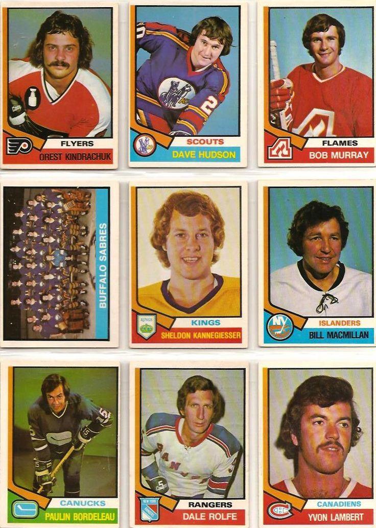 334-342 Orest Kindrachuk, Dave Hudson, Bob Murray, Buffalo Sabres, Sheldon…