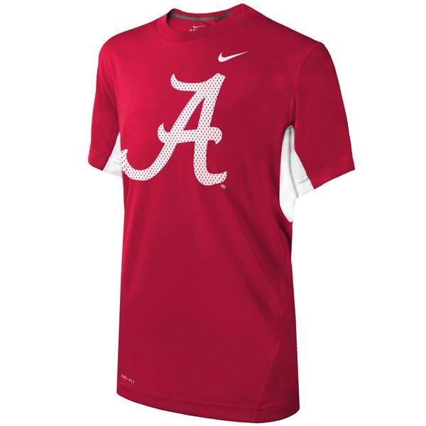 Alabama Crimson Tide Nike Youth Vapor Performance T-Shirt - Crimson - $35.99