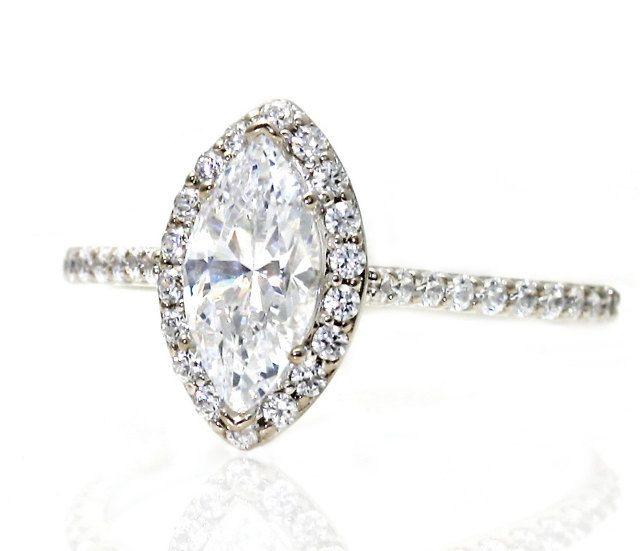 26 best Moissanite Engagement Rings images on Pinterest | Engagement ...