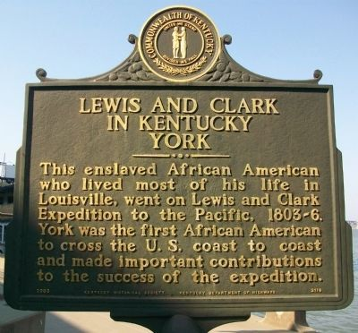 75 best lewis and clark images on pinterest idaho lewis and clark side this enslaved african american who lived most of his life in louisville went on lewis and clark expedition to the pacific a historical marker fandeluxe Choice Image