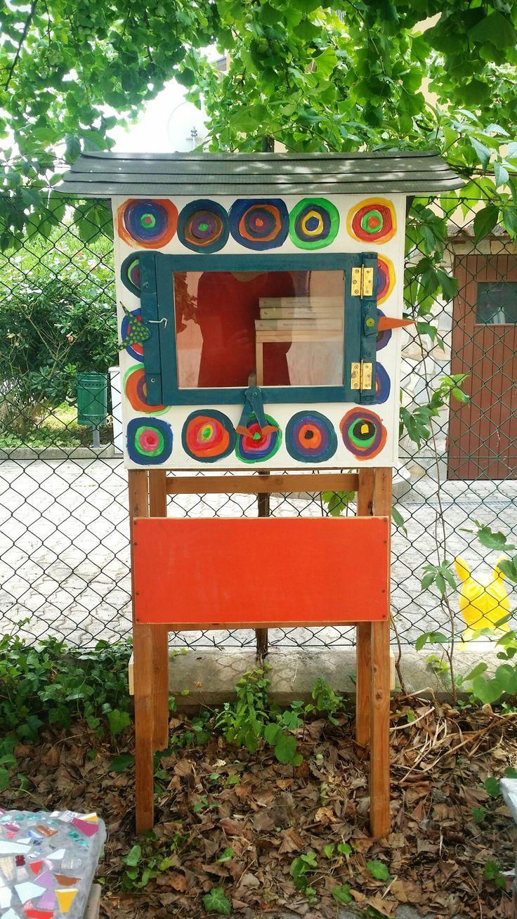 Little Free Library al Centro Gioco, Natura e Creatività  La Lucertola, Ravenna 2017