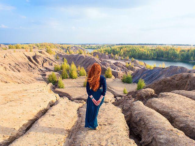 All around the world: Романцевские горы. Деревня Кондуки, Тульская облас...