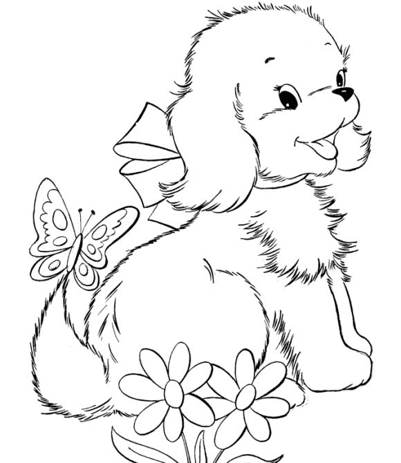 306 best printable dogs images on pinterest | drawings, coloring ... - Cute Dog Coloring Pages Printable