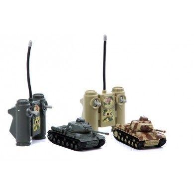 Dziś coś dla najmłodszych użytkowników Modeli RC - Zdalnie Sterowane Czołgi Dwie Sztuki Abrams M1A2 i Panther D.  Czołgi wyglądają realistycznie, jak prawdziwe maszyny z pola walki. Obracająca się o 300° wieżyczka oraz ruchoma lufa sprawią wielką frajdę.   Chcesz wiedzieć więcej? Zobacz opis, dane techniczne, komentarze oraz film Video. Nie ma jeszcze komentarzy, to czemu nie zostawisz swojego:)  #modelerc #skleprc #czolgirc #zdalniesterowane #abramsrc #pantherd #prezenty…