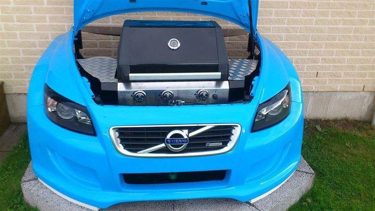 Volvo C30 gasolgrill på Tradera.com - Eld och grill för trädgård |