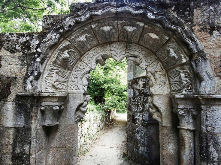1000 Lugares en Galicia: Ribeira Sacra. Monasterio de Santa Cristina de Rib...