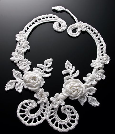 Free Crochet Wedding Jewelry Patterns : 17 Best ideas about Irish Crochet Patterns on Pinterest ...
