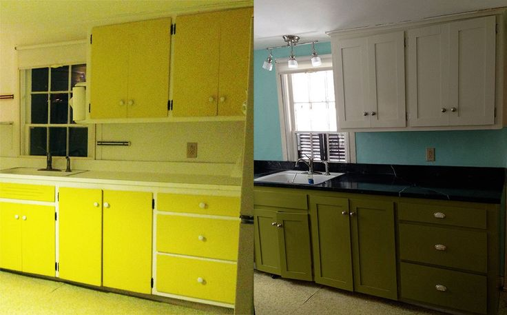 How to turn your flat cabinets into shaker cabinets cheap for Cheap shaker kitchen cabinets