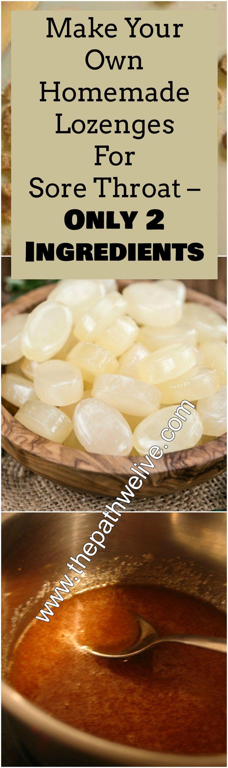 #homemade #sorethroat #lozenges #pastiles #flu #cold #remedy
