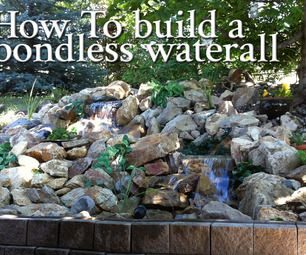 How I built a back yard pond-less waterfall for under a thousand dollars.  This is my first instructable so bear with me!  Next time ill be sure to ...