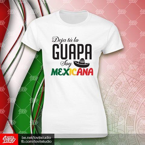 ¡Viva México! El país de las #mujeres más #bellas... Like si estás de acuerdo :)  Ven a #Lovit por una playera como ésta y da el grito con estilo.  Más modelos en nuestra página de Facebook: fb.com/lovitstudio  #LovitStudio #Palenque #PalenqueChiapas #México #Guapa #Playera #Personalizada #VinilTextil #Mexicana #Mexican #Independencia