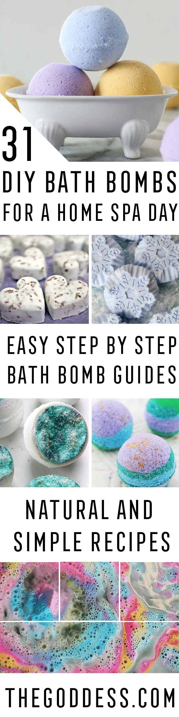 12 best 31 Best DIY Bath Bombs For Spa Day at Home images on Pinterest