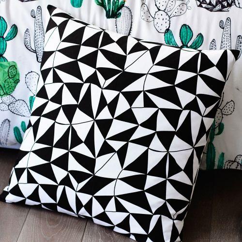 Home Republic Design Series Cactus Quilt Cover Set, quilt covers, quilt cover sets - European pillowcase