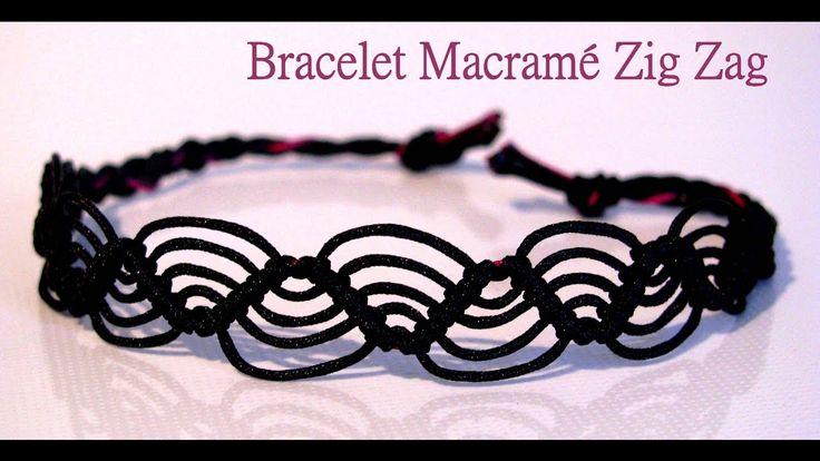 Les 58 meilleures images concernant bracelet br silien et autres tutos sur pi - Macrame pour debutant ...