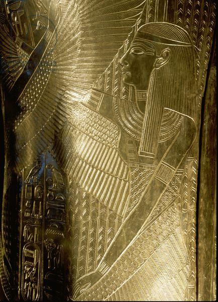 Detail of the second largest shrine of Tutankhamun