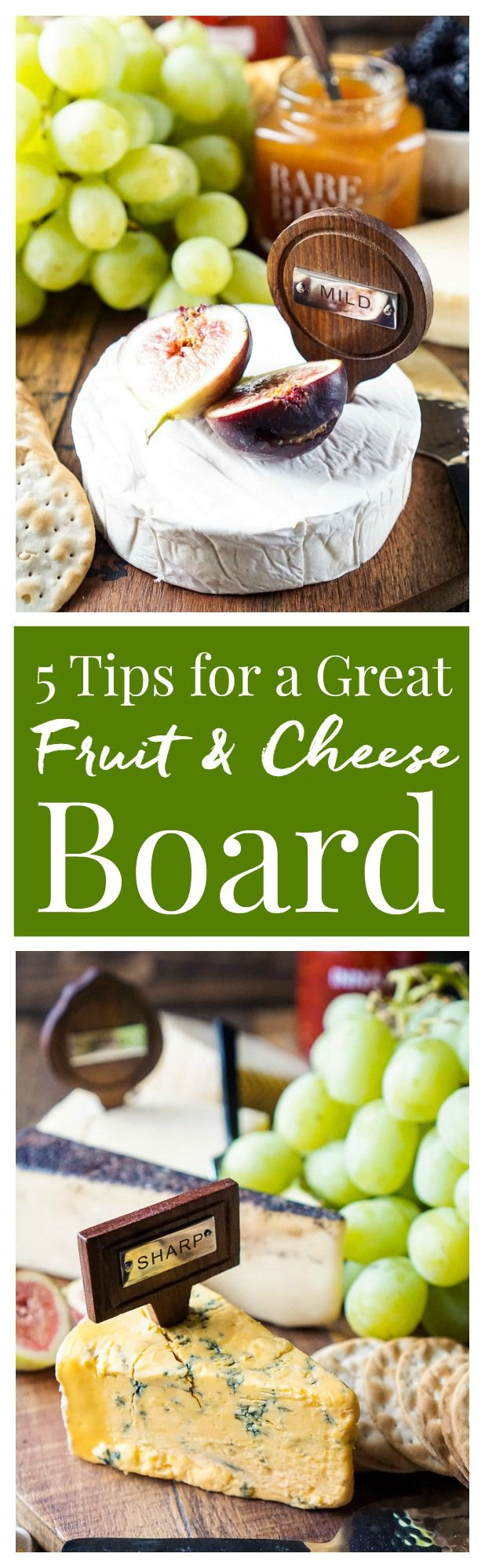 These 5 Tips for a Great Fruit and Cheese Board will have you entertaining with flavor and style! Learn how to choose cheeses and pairings, how to style and serve them, plus tips for doing it on a budget! This is a great appetizer for any get together and doesn't require any cooking! #Shaws #CheeseSale ad