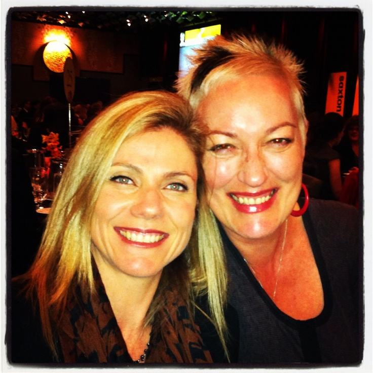 The gorgeous, intelligent and super funny @Tracy Bartram . BFFs, business partners and mentors to one another.