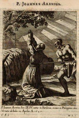 Padre Giov. Domenico Aresu, gesuita martire nelle filippine, nativo di Tertenia