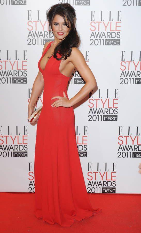 Star en robe rouge