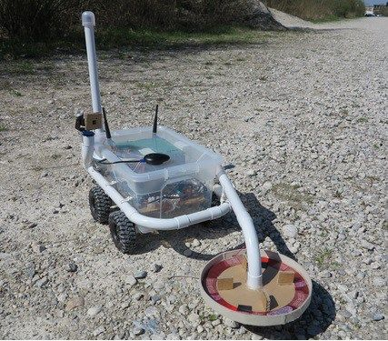 Construye un robot detector de metales con Raspberry Pi #raspberrypi #robot