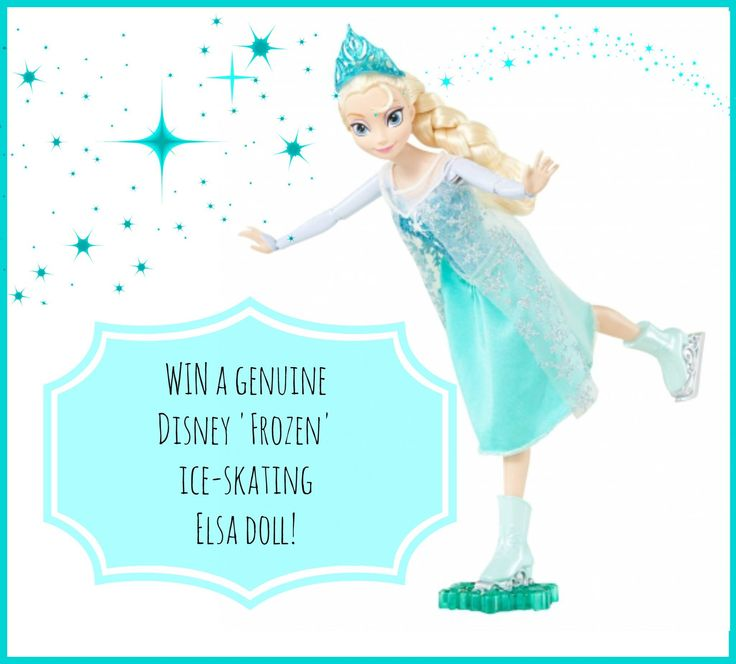 W I N a gorgeous Disney Frozen 'Elsa' Ice-skating doll for your little Frozen fan!   Entry is super easy! Just write 'Elsa' and click here >>>> http://www.jumpstartrampolines.com.au/winpage.html