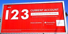 The Santander 123 Current Account could sace you money if you have high household,petrol & supermarket shopping bills: http://www.helpmetosave.com/2012/03/santander-123-cashback-current-accout/