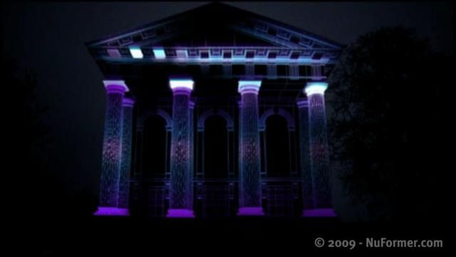 NuFormer - 3D Video Mapping Projection on Buildings by NuFormer. www.nuformer.com | www.mocapmapping.com