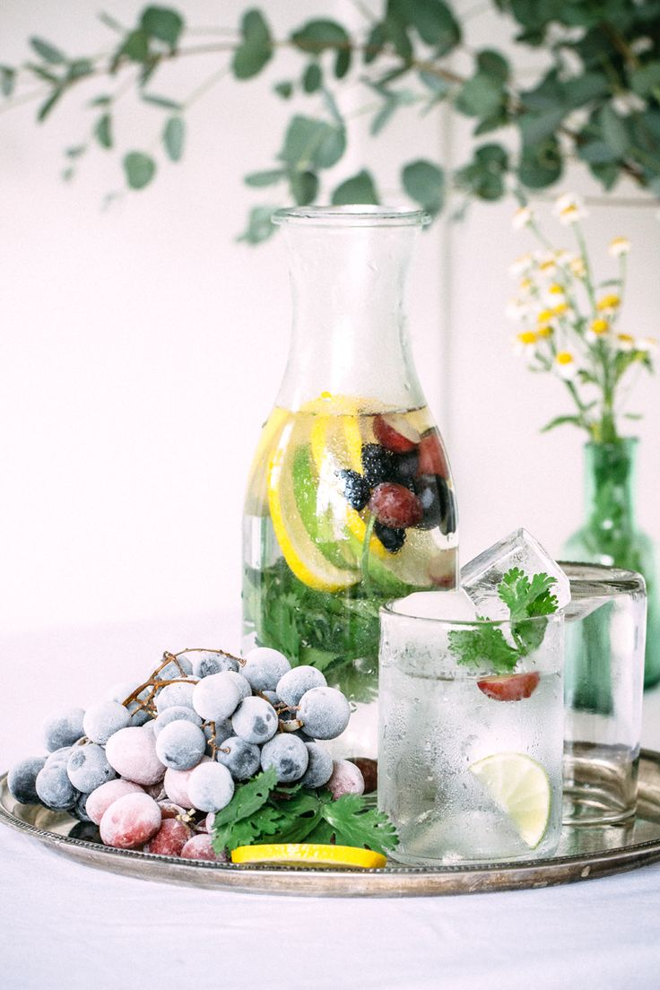 This week I'll share a few things from recent work. Today is all about flavoured water. I don't have an issue drinking natural water, but hey, if you can turn a mundane thing into a gou…