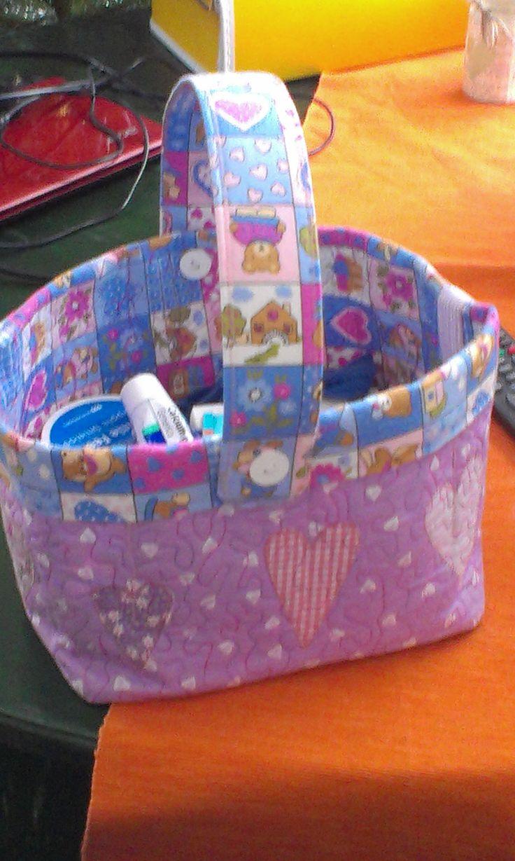 toaletní košíček pro miminko