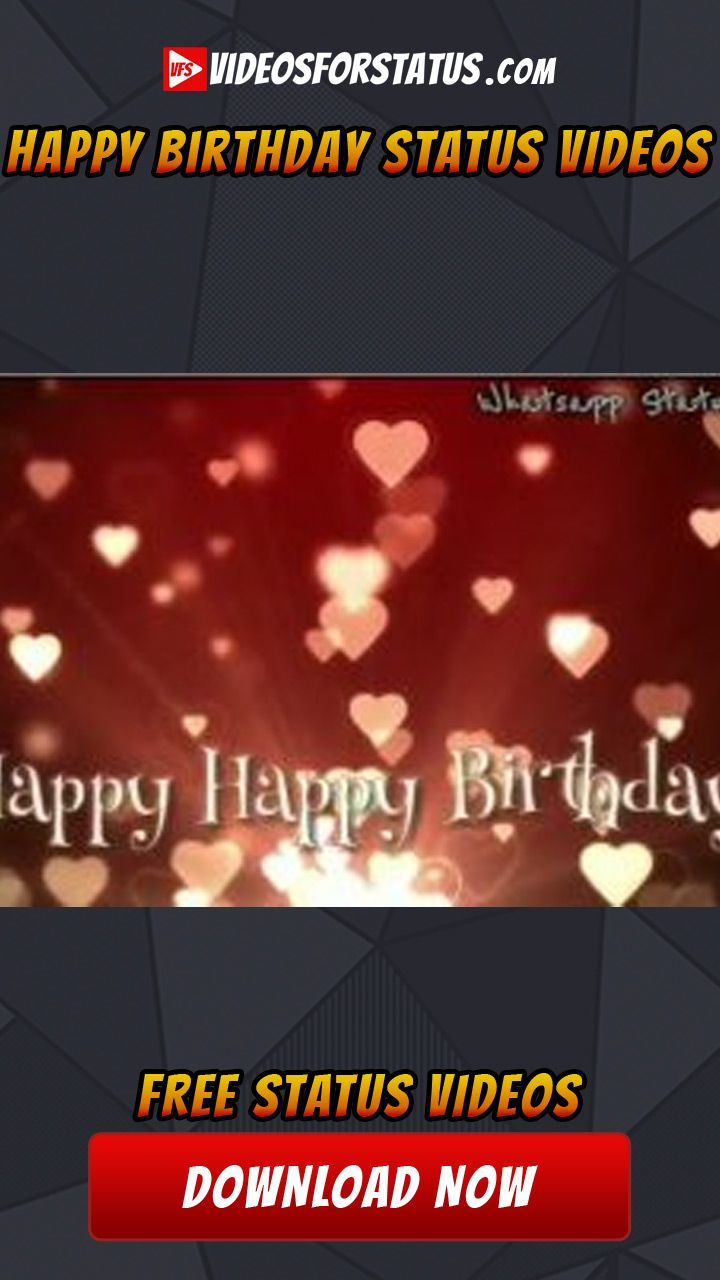Birthday Wishes Clips For Whatsapp : birthday, wishes, clips, whatsapp, Happy, Birthday, Status, Videos, Whatsapp, Download, Status,, Wishes