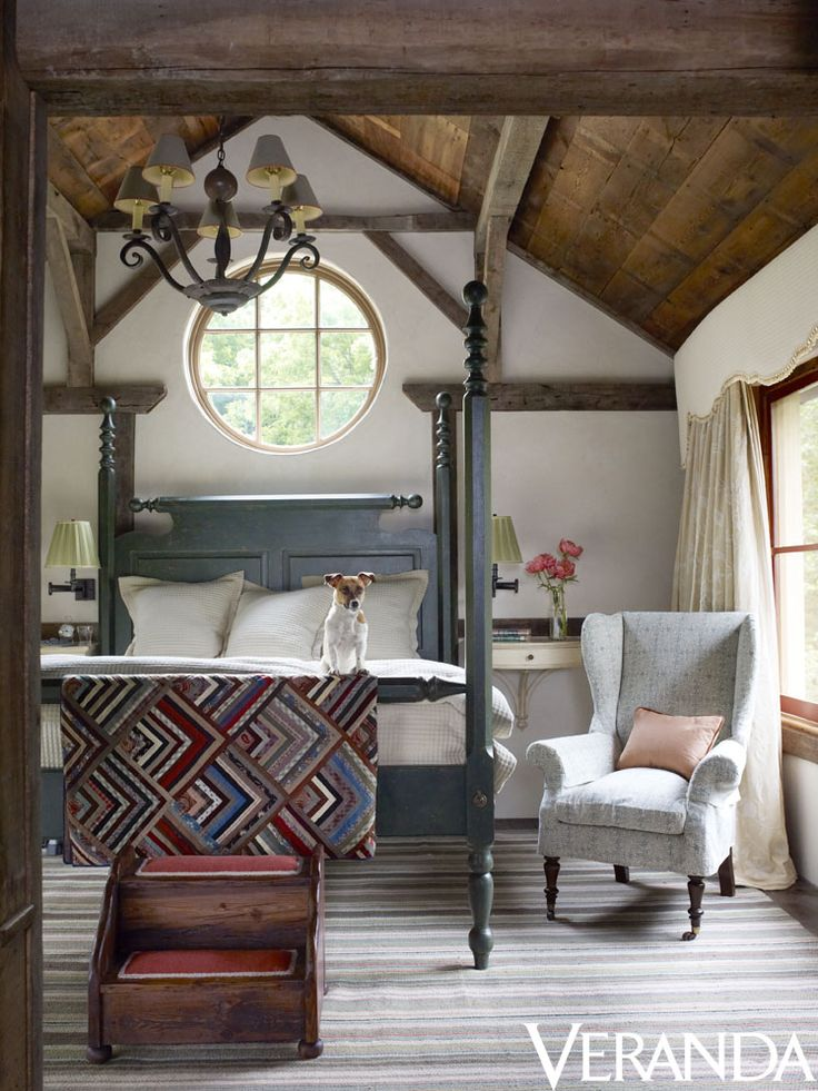 Best 149 rustic bedrooms images on pinterest home decor for Rustic french bedroom